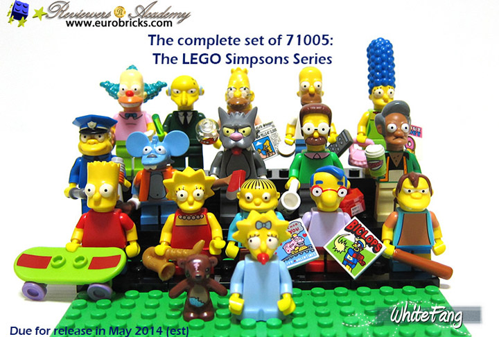 WhiteFang's Lego Simpsons Minifigures Review 03