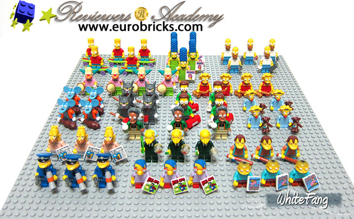 WhiteFang's Lego Simpsons Minifigures Review 04