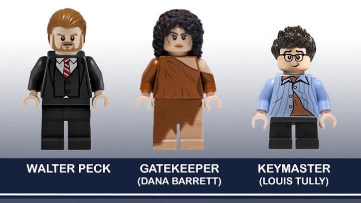 BrentWaller's Lego Ghostbusters: Louis Tully, Dana Barrett, Walter Peck