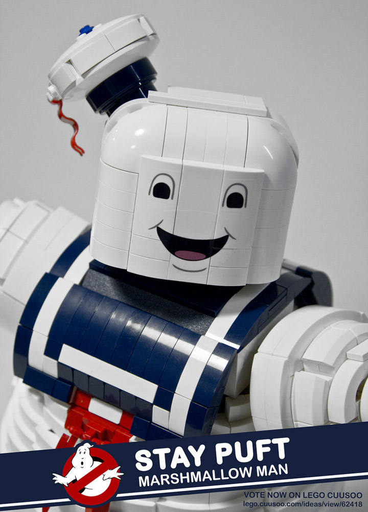 BrentWaller's Lego Ghostbusters: Mr Stay Puft