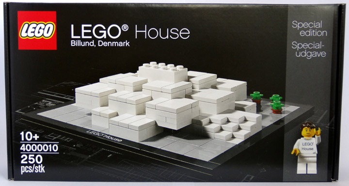 CopMike Review: The Lego House 4000010 Box