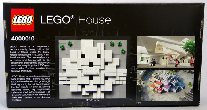 CopMike Review: The Lego House 4000010 Box Back
