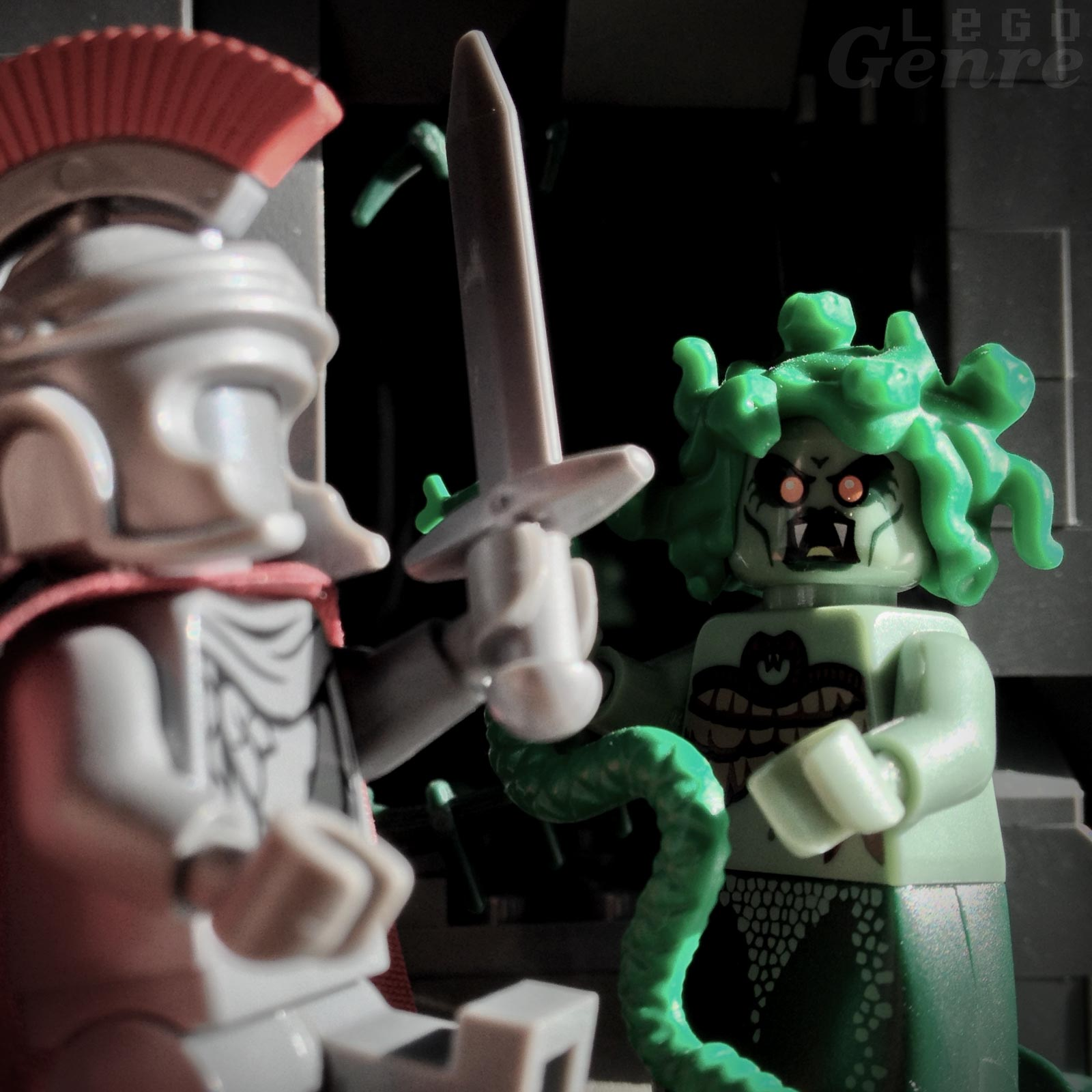 LegoGenre: Whom no man shall behold and draw again the breath of life…