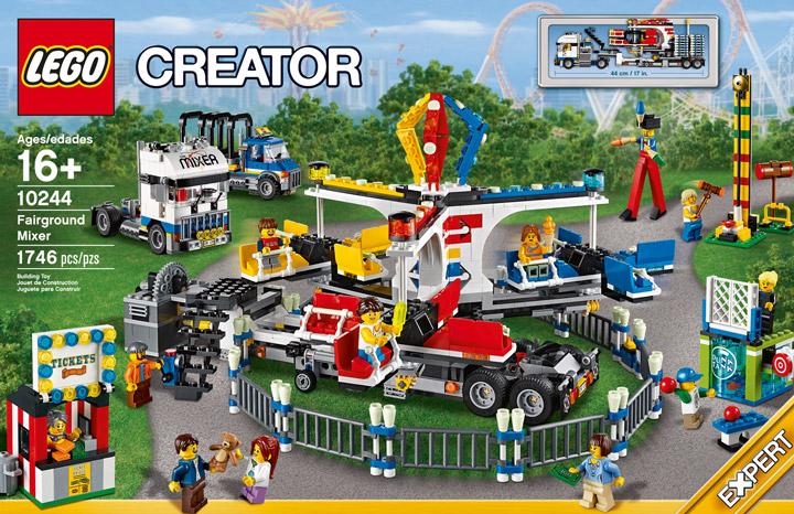 Lego Fairground Mixer 10244 Box