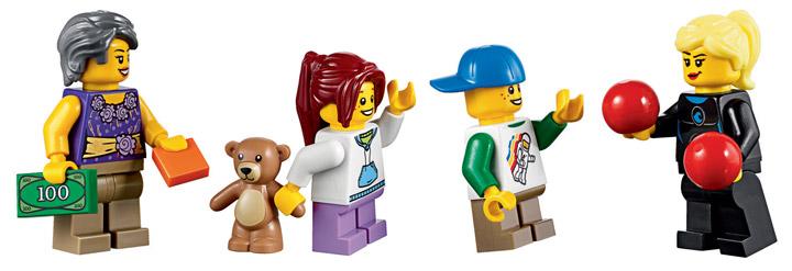 Lego Fairground Mixer 10244 Figures