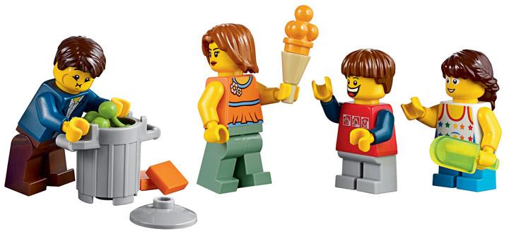 Lego Fairground Mixer 10244 Minifigures