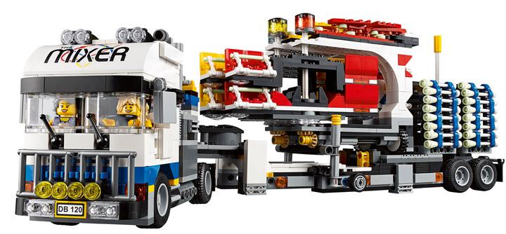 Lego Fairground Mixer 10244 Truck
