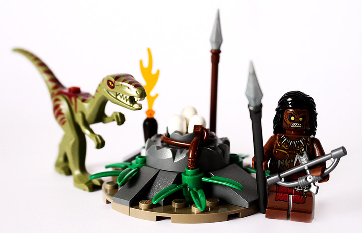 Steven Woolfe's Lego Prehistorica: Hatchery Heist