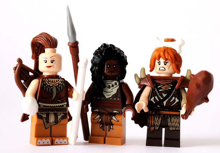 Steven Woolfe's Lego Prehistorica: Stonetooth Tribe