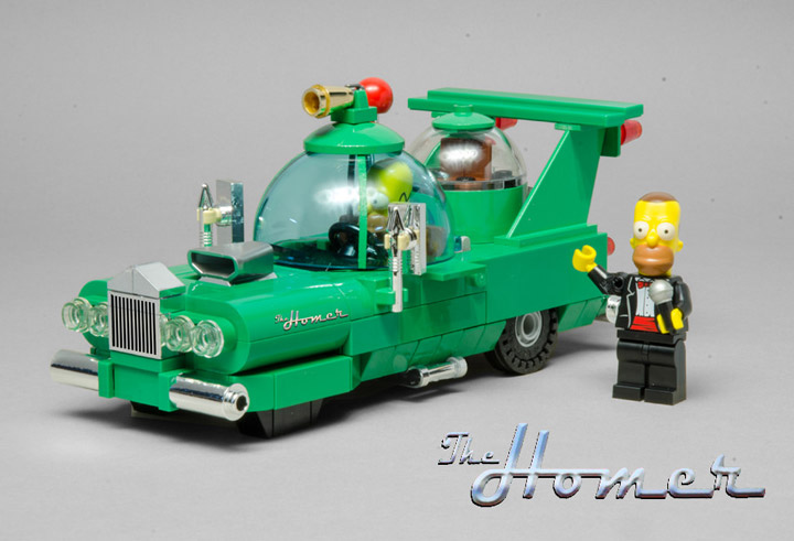 BrianWilliams's Lego Simpsons, The Homer