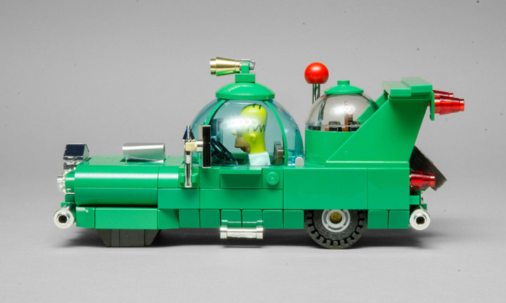 BrianWilliams's Lego Simpsons, The Homer Car