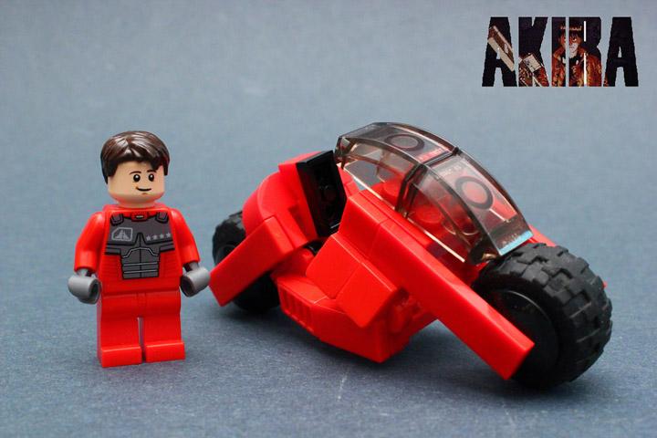 DavidVII's Lego Akira Bike