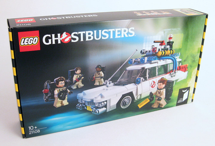DrDaveWatford's Lego Ghostbusters 21108 Review Box