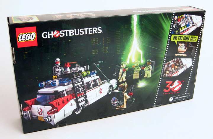 DrDaveWatford's Lego Ghostbusters 21108 Review Box Back