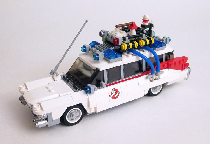 DrDaveWatford's Lego Ghostbusters Review 21108 Car