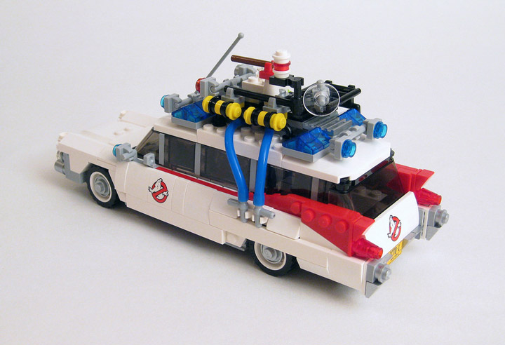 DrDaveWatford's Lego Ghostbusters Review 21108 Ecto-1