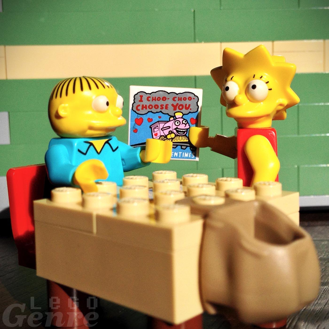 LegoGenre 0377: You Choo-Choo-Choose Me?