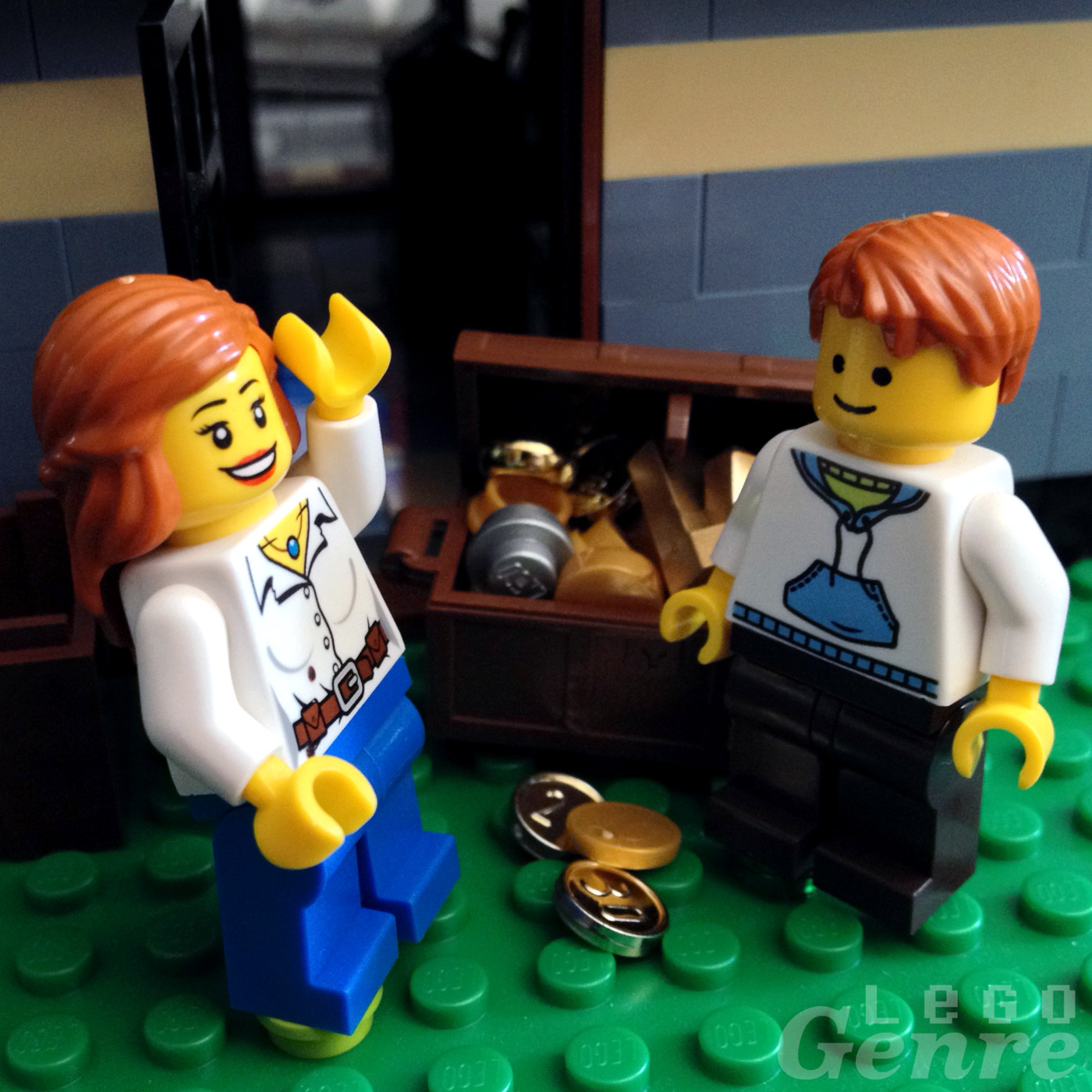 LegoGenre 00378: Mother's Day Surprise