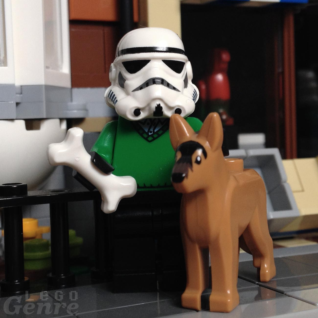 LegoGenre 00376: Stormtrooper Weekends
