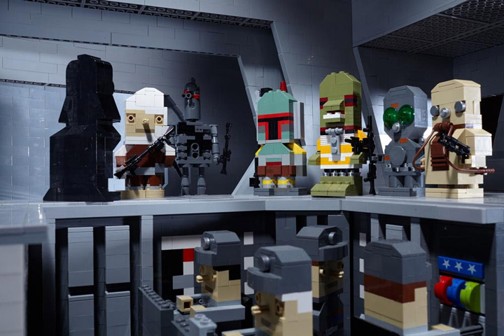 derjoe Lego Star Wars Figures, Bounty Hunters Executor Meeting