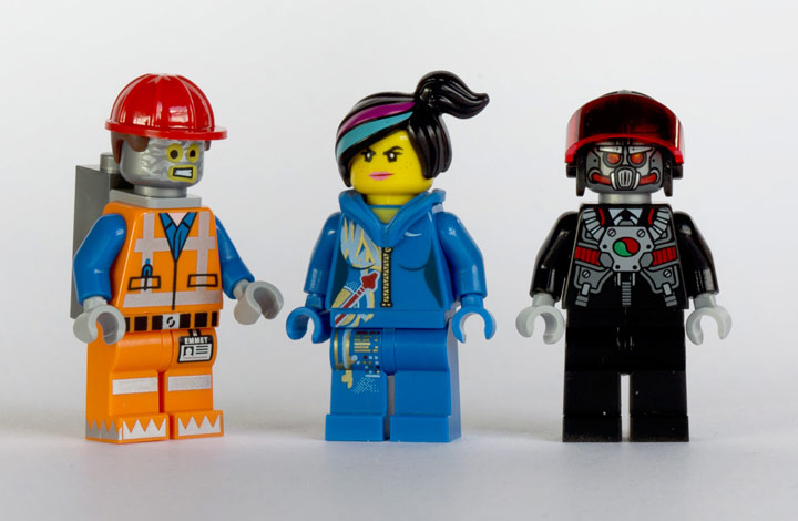 New Elementary's Lego Benny Spaceship Minifigures 70816 Review