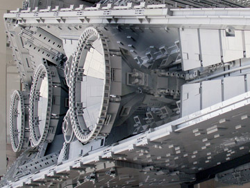 Jerac's Lego Star Wars Chimaera Engines