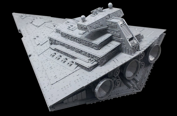 Jerac's Lego Star Wars Star Destroyer Rear