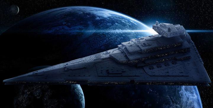 Jerac's Lego Star Wars Star Destroyer Space