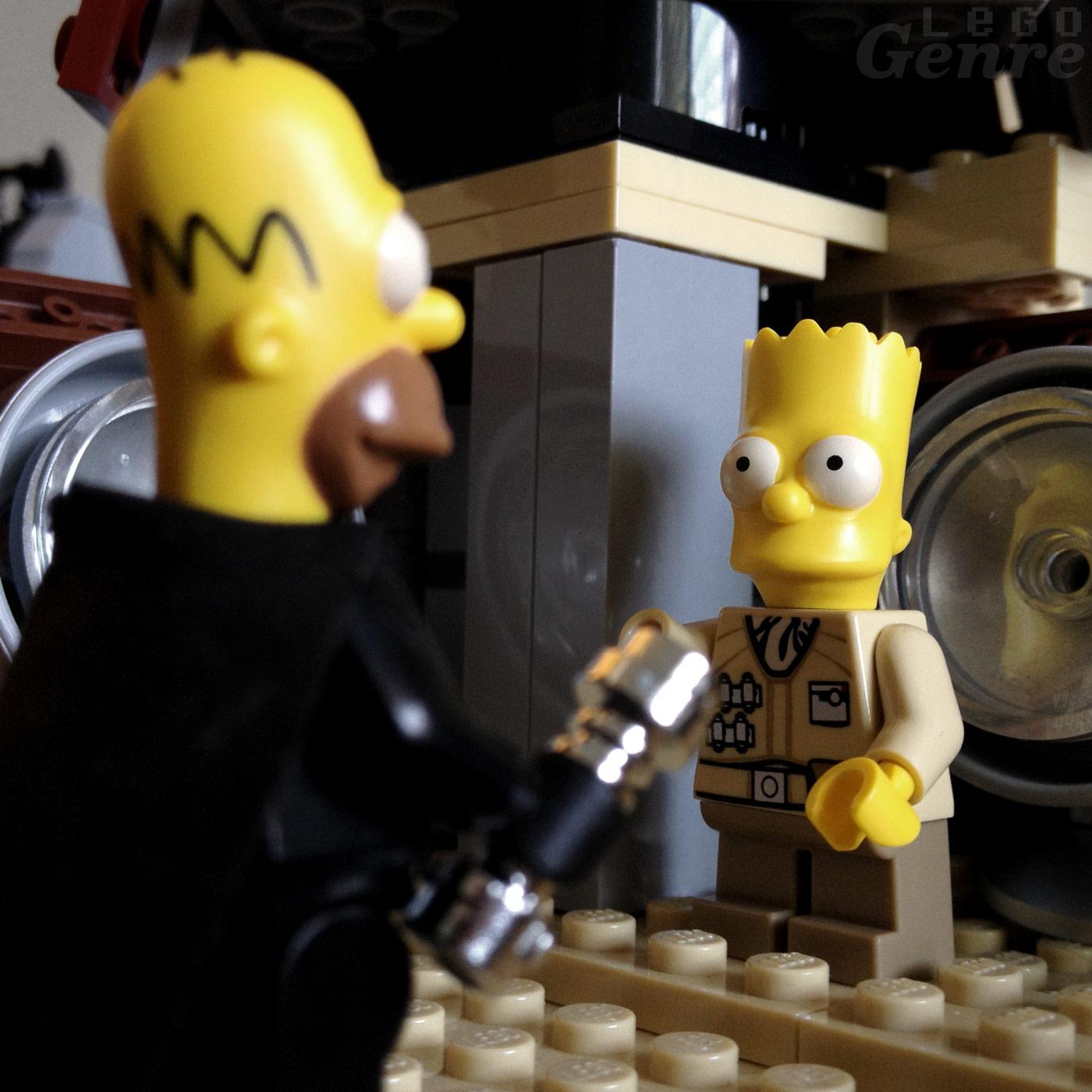 LegoGenre 00383: Bart, I Am Your Father.
