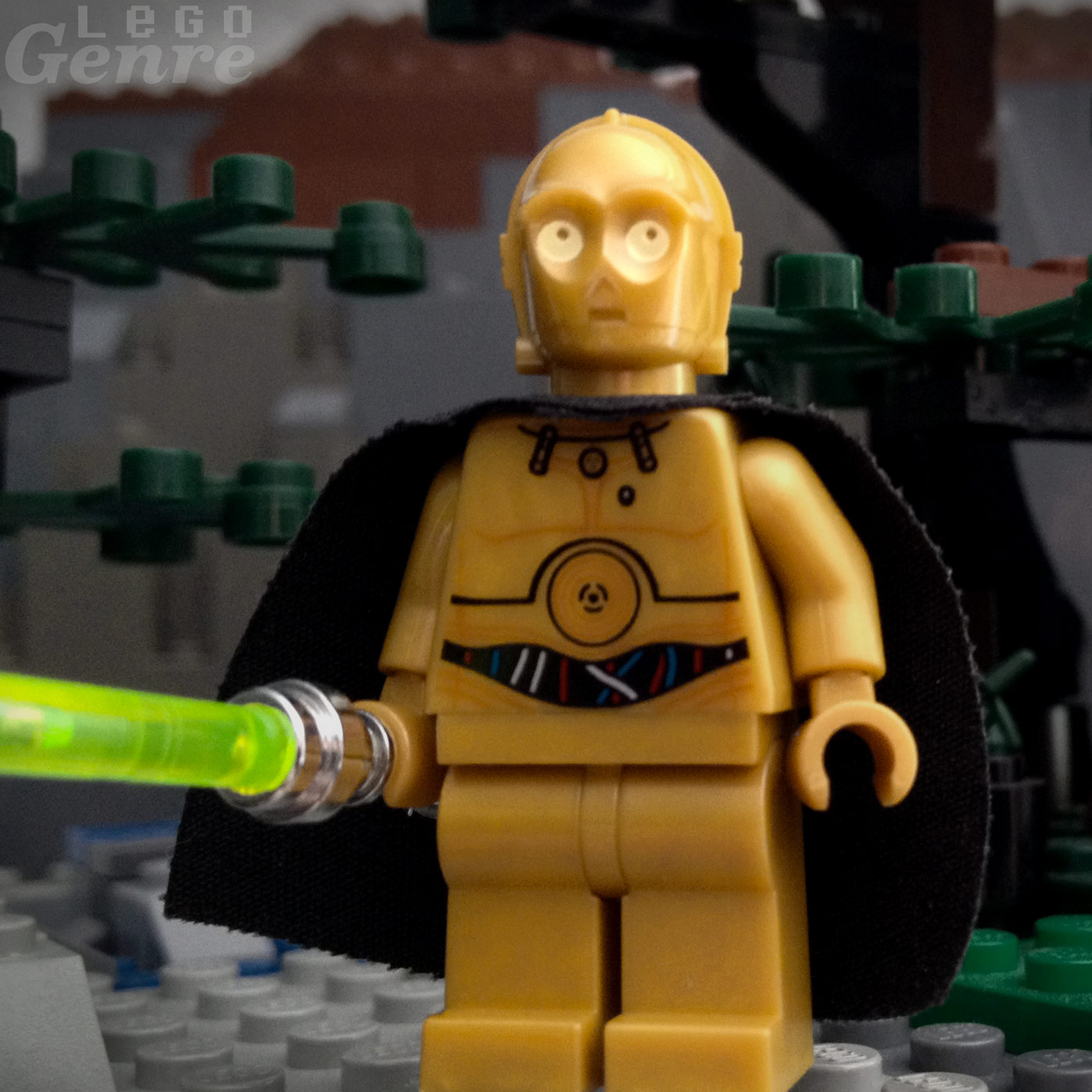 "LegoGenre 00382: ""The Force is strong with this one."""