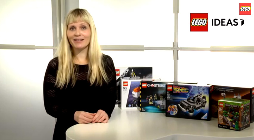 Lego Ideas, Winter 2014 Review Results - Female Minifigure Set