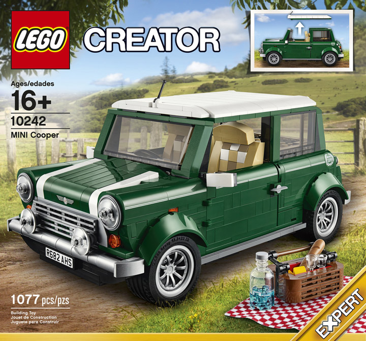 Lego Creator Mini Cooper 10242 Box