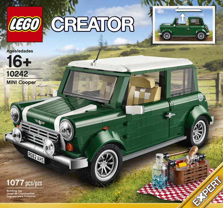 Lego Creator Mini Cooper 10242 Box