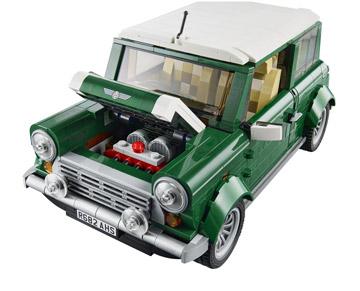 Lego Creator Mini Cooper 10242 Front