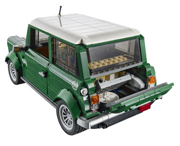 Lego Creator Mini Cooper 10242 Rear