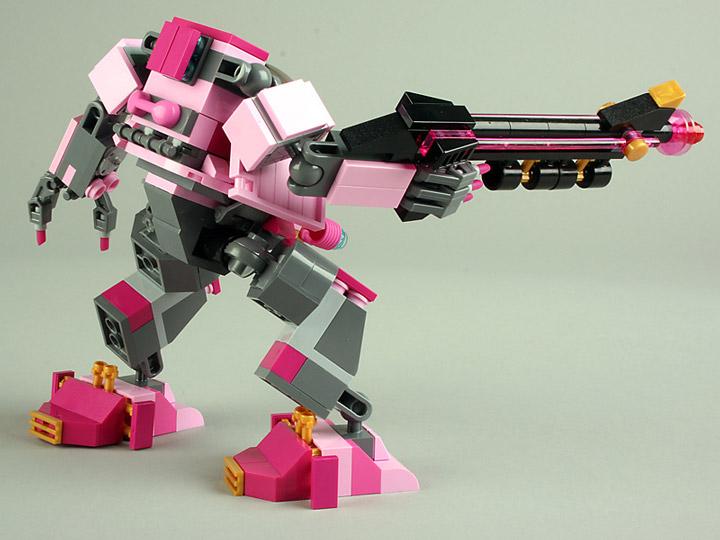 MarkStafford Lego Friends Mecha Ultra Violet 2