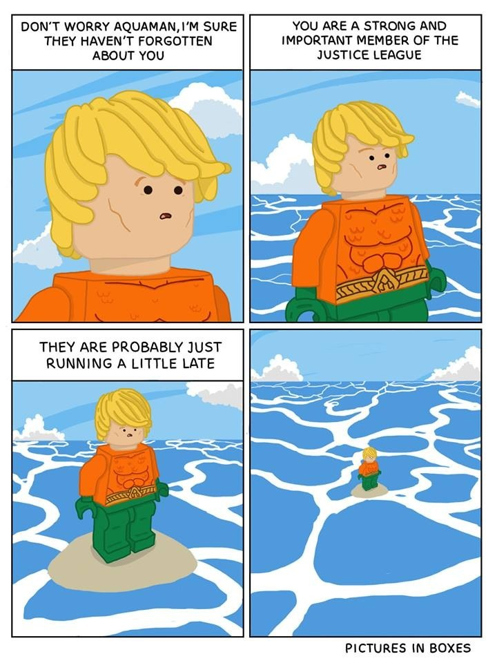 Pictures In Boxes Lego Comic Aquaman