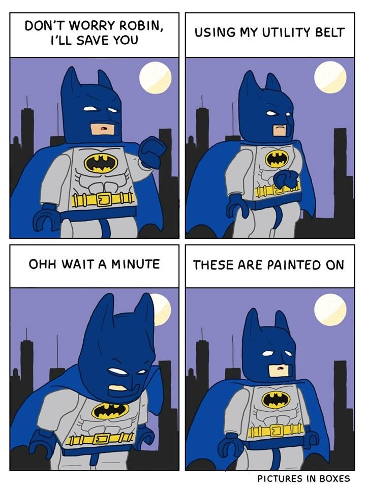 Pictures In Boxes Lego Comic Batman