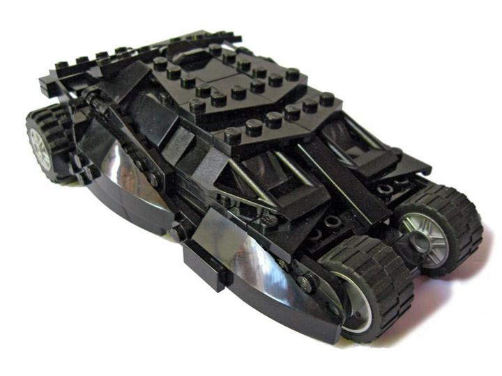 Brent Waller's Lego Batman Tumbler