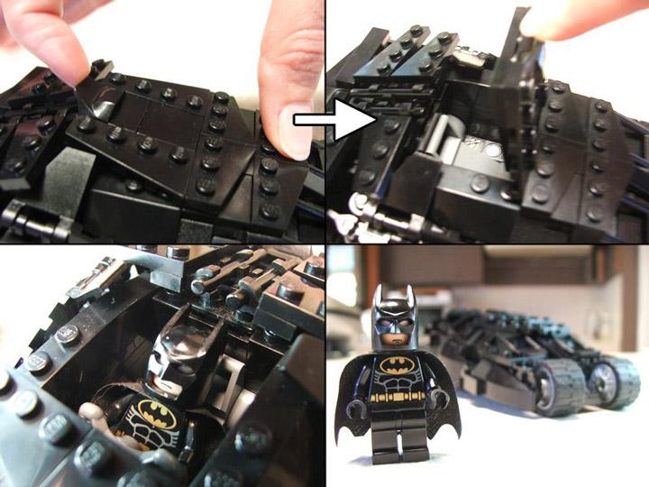 Brent Waller's Lego Batman Tumbler Details