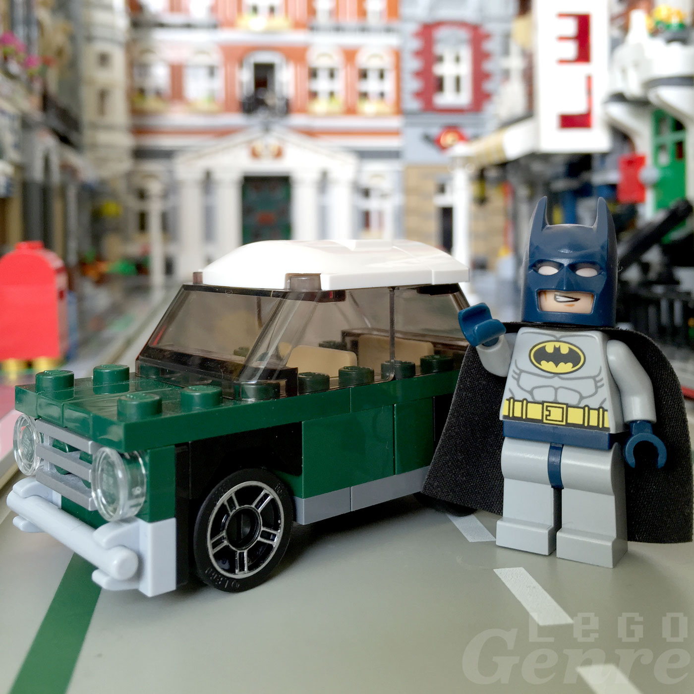 LegoGenre: Batman's New Car