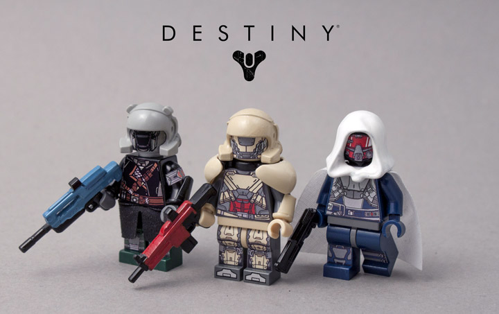 Living Legend's Lego Destiny Minifigures