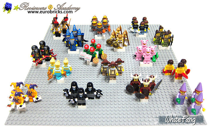 Whitefang Lego Minifigures Series 12 Box Spread