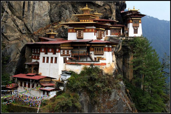 Anu Pehrson's Tiger's Nest Monastery, Paro Taktsang