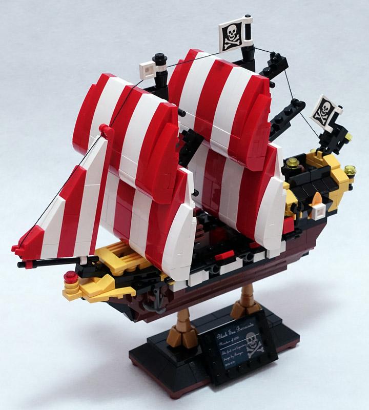 BangooH's Lego Black Seas Barracuda 6285 Mini
