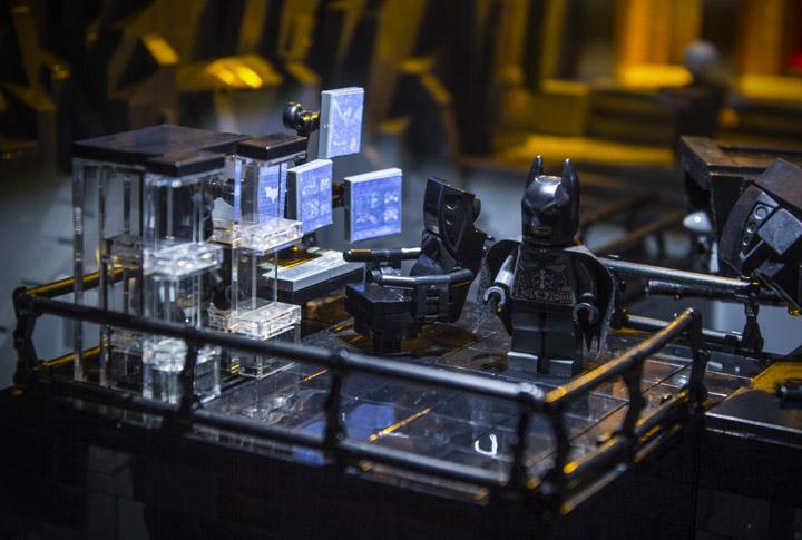 Brent Waller Lego Dark Knight Rises Batcave Batman