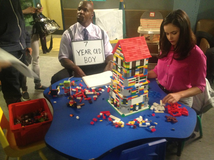 Brooklyn Nine Nine Lego, Behind The Scenes Set