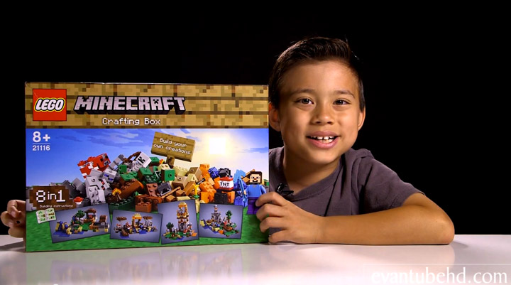 Evantubehd's Lego Minecraft 2015 Crafting Box Review