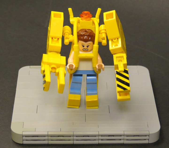 Grantmasters's Lego Aliens Mini Power Loader