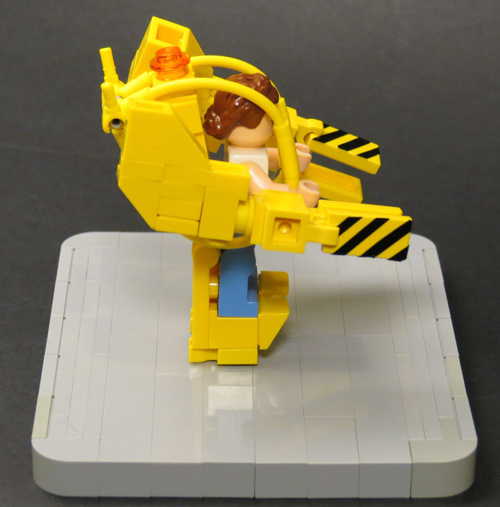 Grantmasters's Lego Aliens Mini Power Loader Side